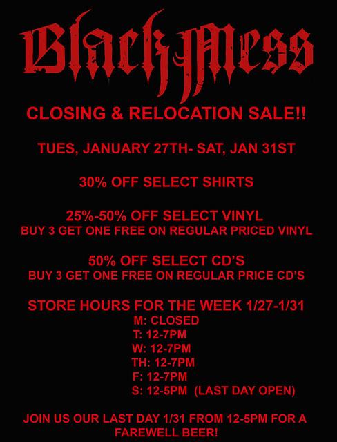 Black Mess Sale