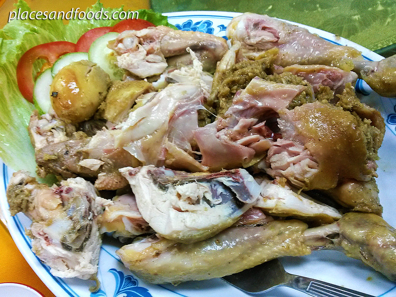 sek me choy baked salt chicken