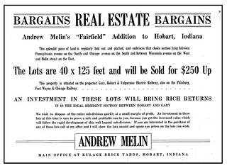 2015-1-20. Fairfield Addition ad 1910