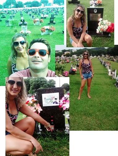 selfie no cemitério 10