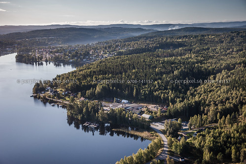 sverige industri swe västragötaland bengtsfors flygfoto äspenäs