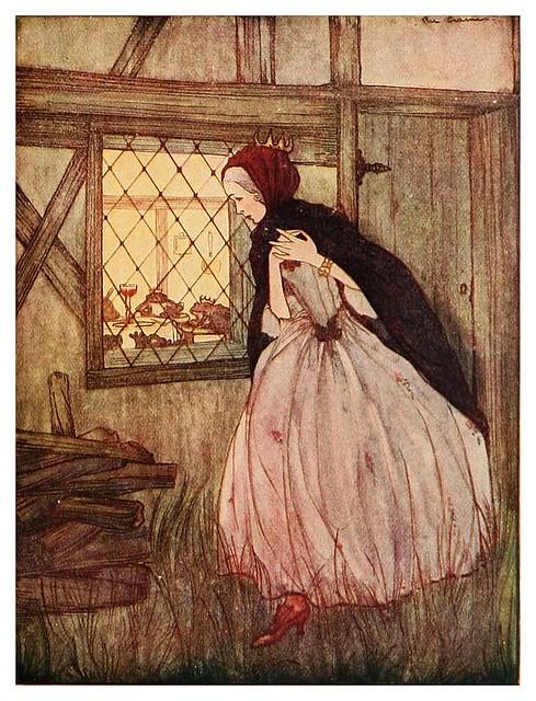 010- La estufa de hierro-Grimm's fairy tales-1927-Ilust. Rie Cramer