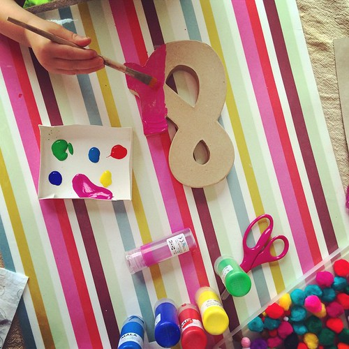 & !  (it goes with an A and L)    perfect day for some #artjar fun #adalovestopaint #craftsforkids #artprojectsforpreschoolers