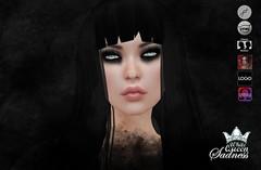 White Queen - eyeshadows - Sadness