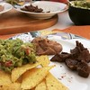 """Let's order take out"" - ""let's prepare some guacamole and meat."" #mexicanfood #authentic #alltheats"