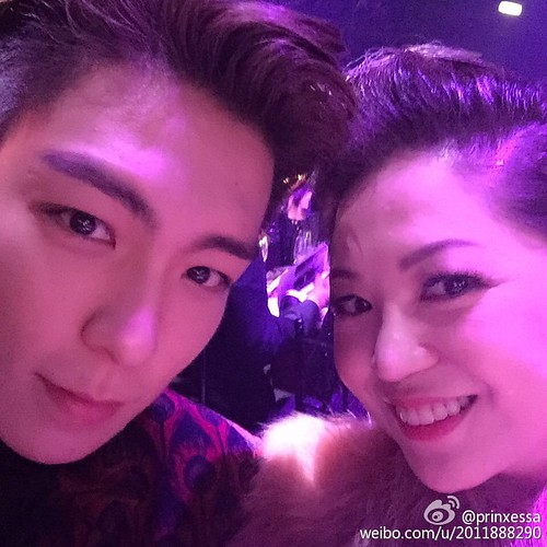 TOP - amfAR Charity Event - 14mar2015 - prinxessa Weibo - 01