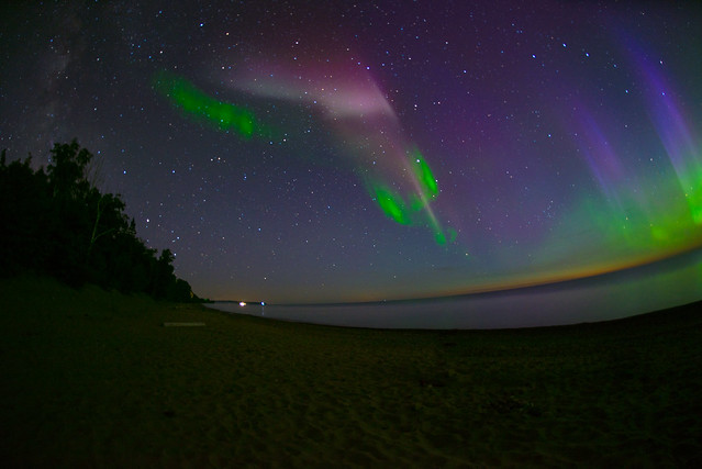 The Milky Way, A Proton Arc, and the Northern Lights!