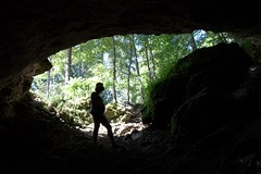 Exploring the local caves Image