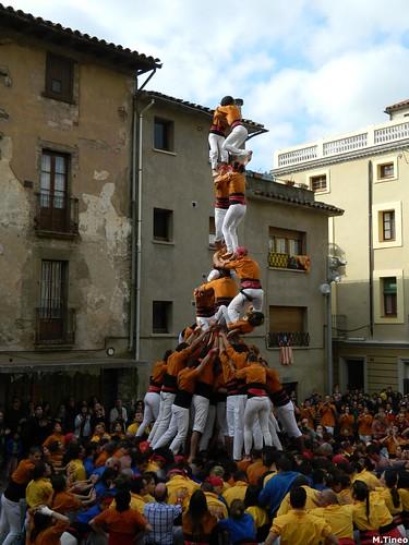 Castellers d'Esplugues a Centelles