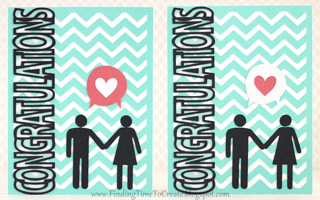 Congratulations couple card set by Kelly Wayment