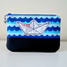 Paper boat pouch by CamilaMHS