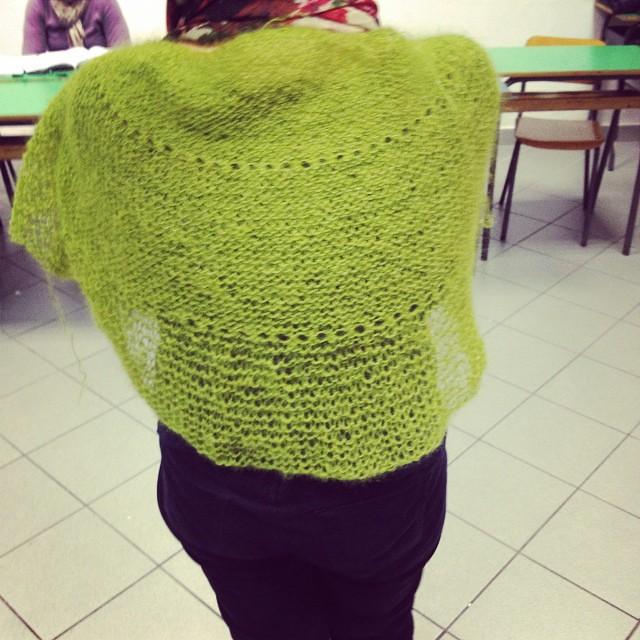 Finish  #instaknit #ravelry #fattoamano #handmade #cheaphapinness #serialknitters #shawl #ameliabefana #iolavoroamaglia #lavoroamaglia #kalfromitaly #yarn #