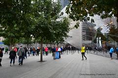 National September 11 Memorial, Ground Zero, Downtown Manhattan, October 2014