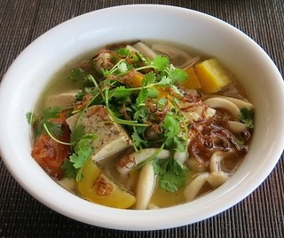 Soup nấm đậu hũ