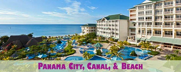 Panama City, Canal, and Beach