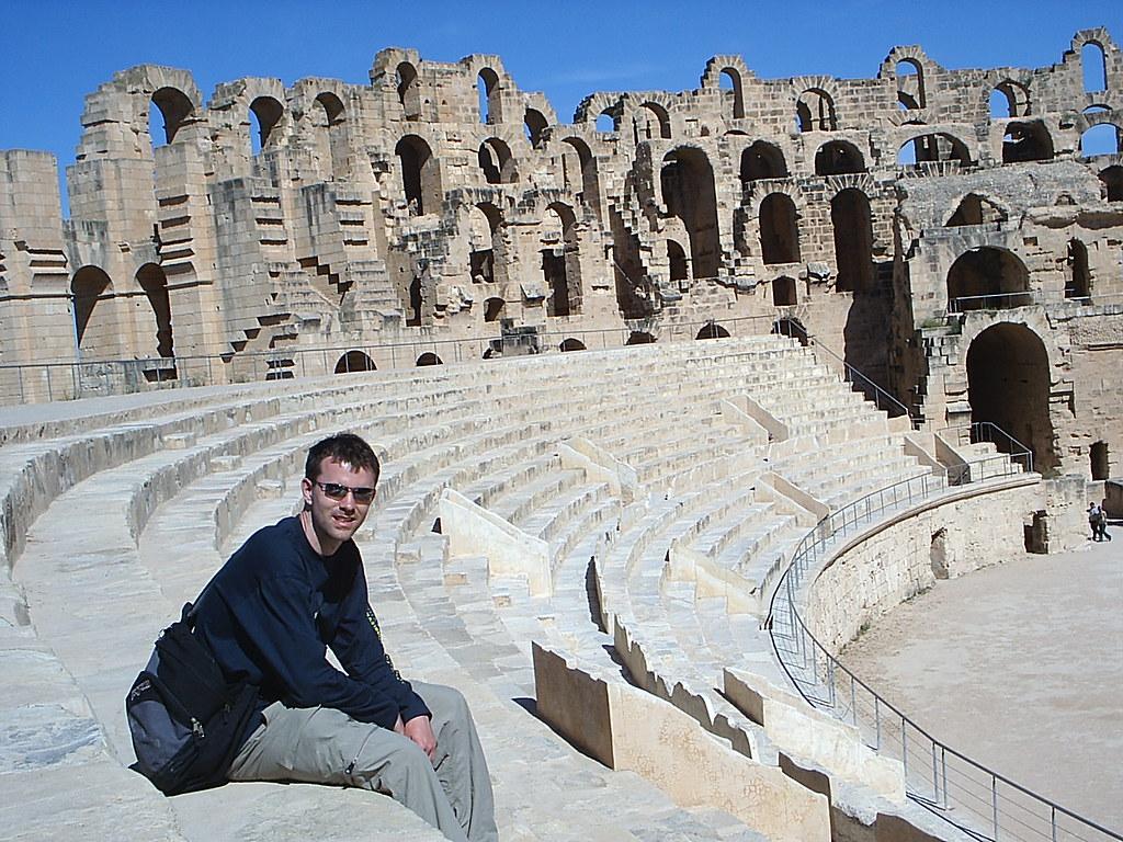 At El Jem s Amphitheatre