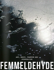 Femmeldehyde - Issue 10. Cover Photographer. Feature Photographer