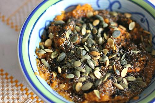 zucca speziata con semi vari