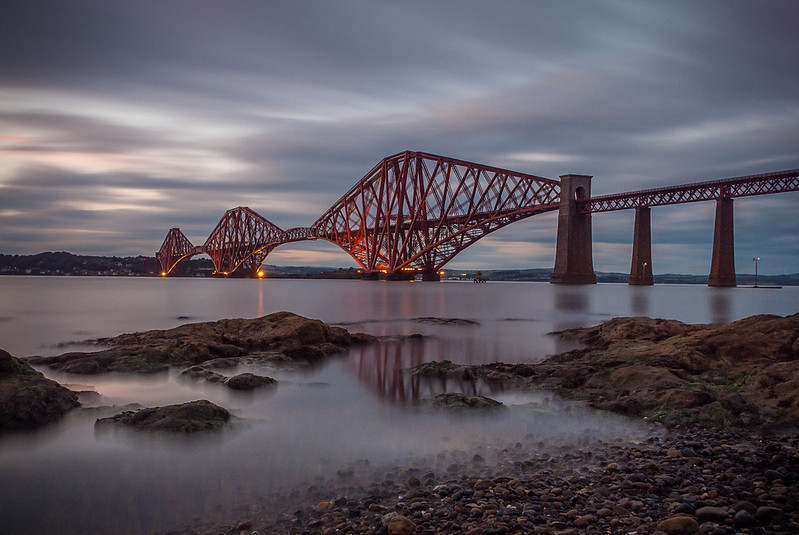 Forth Rail Bridge 5 min exposure