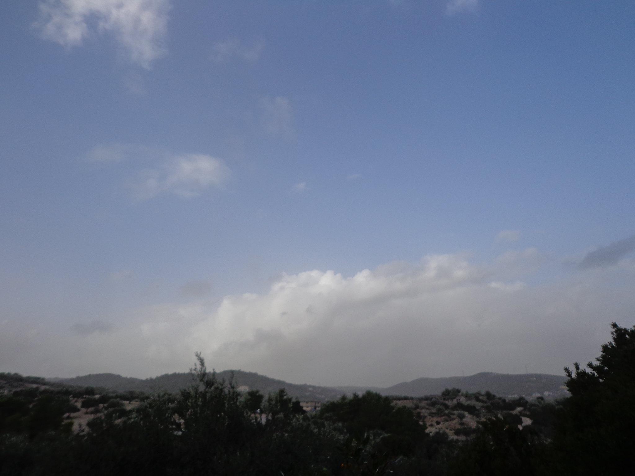 Άποψη του χωριού μετά την κακοκαιρία - Κακοκαιρία, Ισχυροί άνεμοι, Ψίνθος