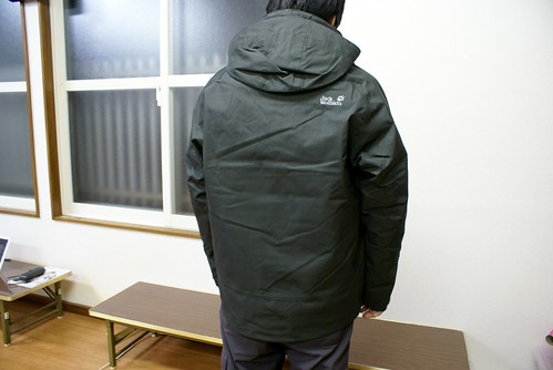Jack Wolfskinのジャケット