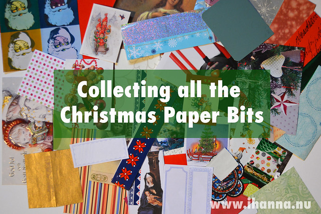 Collecting Christmas Papers