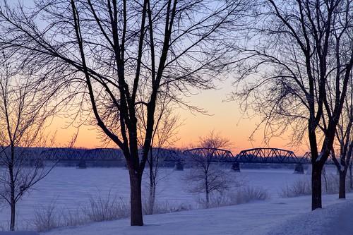 morning canada cold frosty nb fredericton newbrunswick hdr saintjohnriver 2015