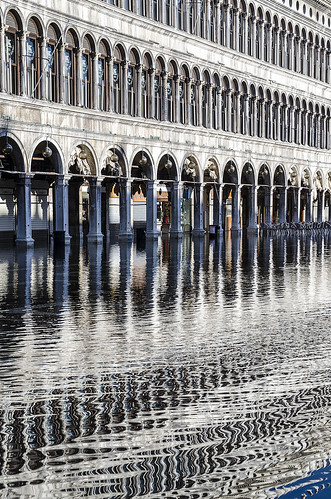 San Marco square in high tide
