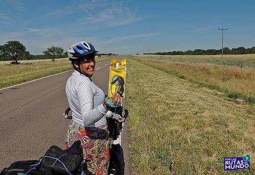 Por las Rutas del Mundo en Bici - La Pampa