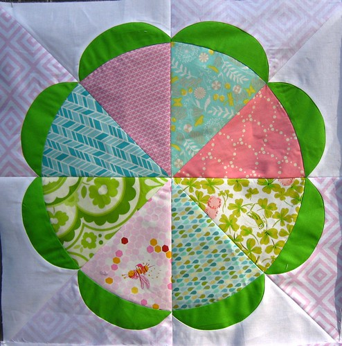 Gathering Flowers block