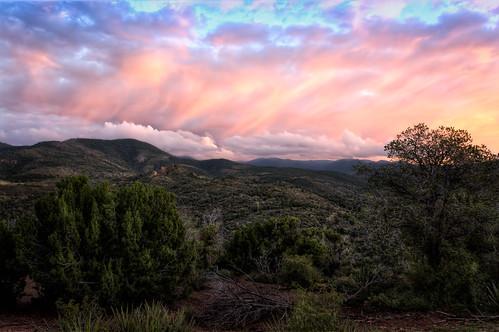 usa newmexico nature sunrisesunset highrolls hdrphoto