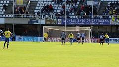Segundo gol del Cádiz. Gol de penalti (2)