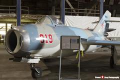 N2503N 319 - 1F0319 - Private - PZL-Mielec Lim-6 MIG-17 - Tillamook Air Museum - Tillamook, Oregon - 131025 - Steven Gray - IMG_8025