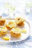 Nids de pâtes croustillantes mousse citron