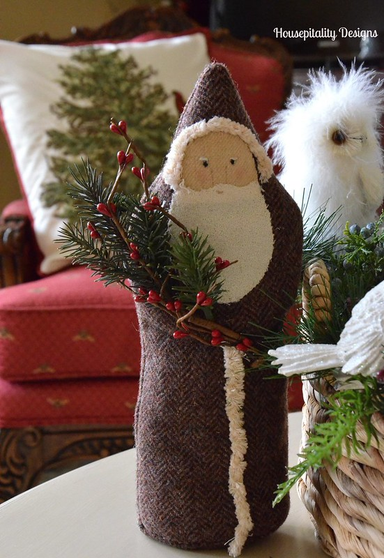 Felted Wool Santa-Housepitality Designs