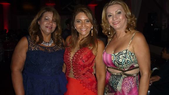 Francimary Leão, Vera Branco e Vânia Pinheiro