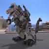 TyranoBot On a Street