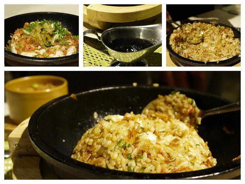 櫻花蝦石鍋拌飯