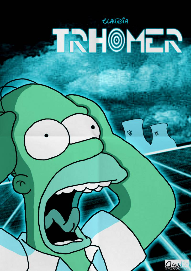 Copyright der verwendeten Figuren © Matt Groening & 20th Century Fox, des kreativen Inhaltes © Claudia-R