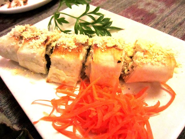 Payung Cafe Mushroom roll