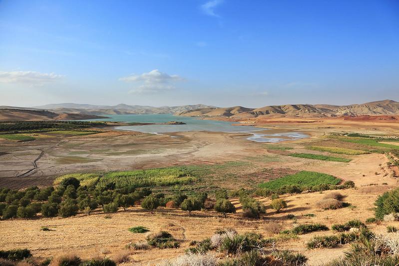 Lac de Barrage Sidi Chahed