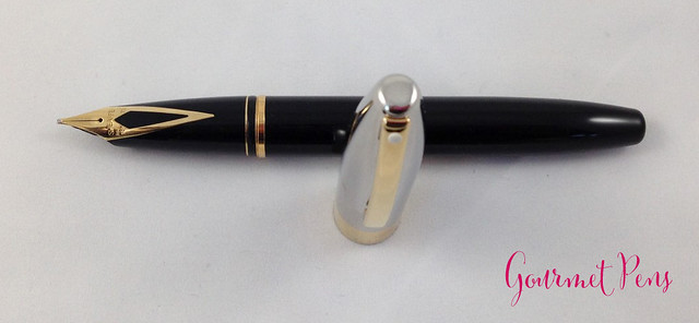 Review: 舍弗尔遗产遗产 Black/Palladium Fountain Pen - Broad @ThePenCompany @Sheaffer_Page