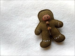 Brown Tick Gingerbread Man: brown
