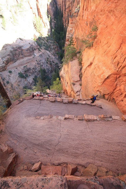 Switchback Delights. Angels Landing.  Zion National Park, Utah.
