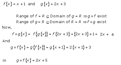 RD Sharma Class 12 Solutions Chapter 2 Functions Ex2.3 Q1-vii
