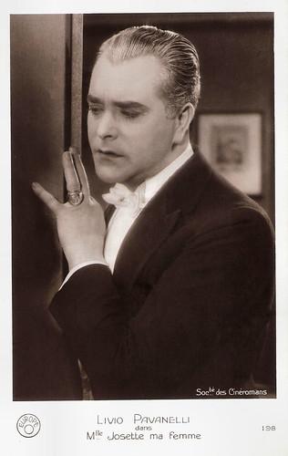Livio Pavanelli in Mademoiselle Josette ma femme (1926)