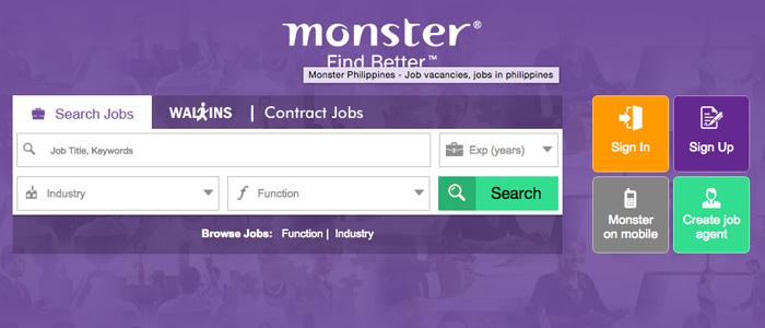 Search for philippines jobs at Monster. Browse our collection of philippines job listings, including openings in full time and part time.