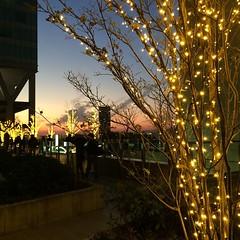 thanks for today! #sunset #osaka #japan