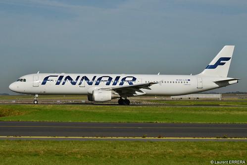 Airbus A321-200 Finnair (FIN) OH-LZA - MSN 941