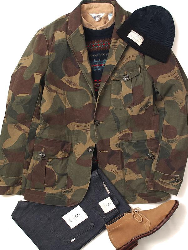 Ralph Lauren / Desert Camouflage Sport Coat